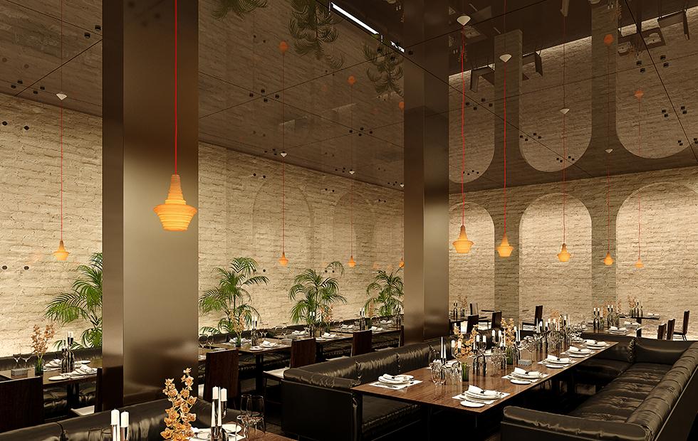 Moscow restaurant