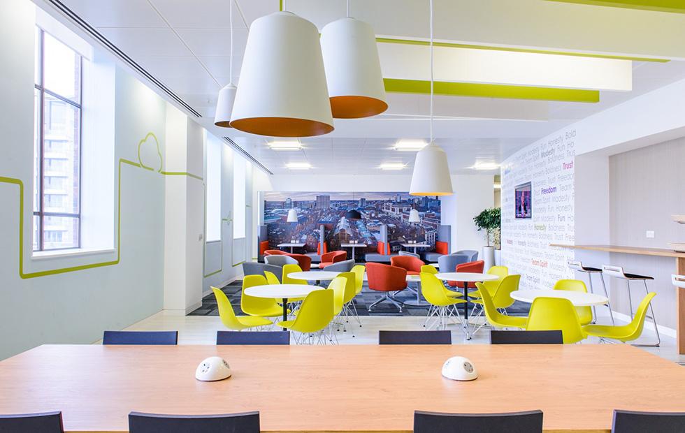 Capgemini Office Canteen