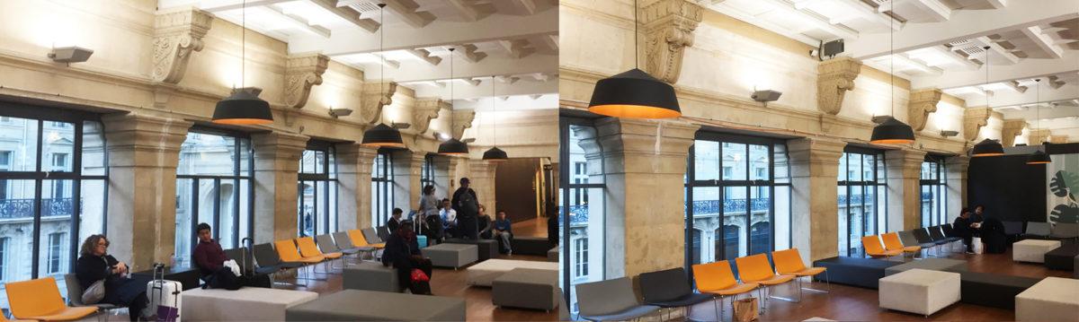 Paris Eurostar Lounge